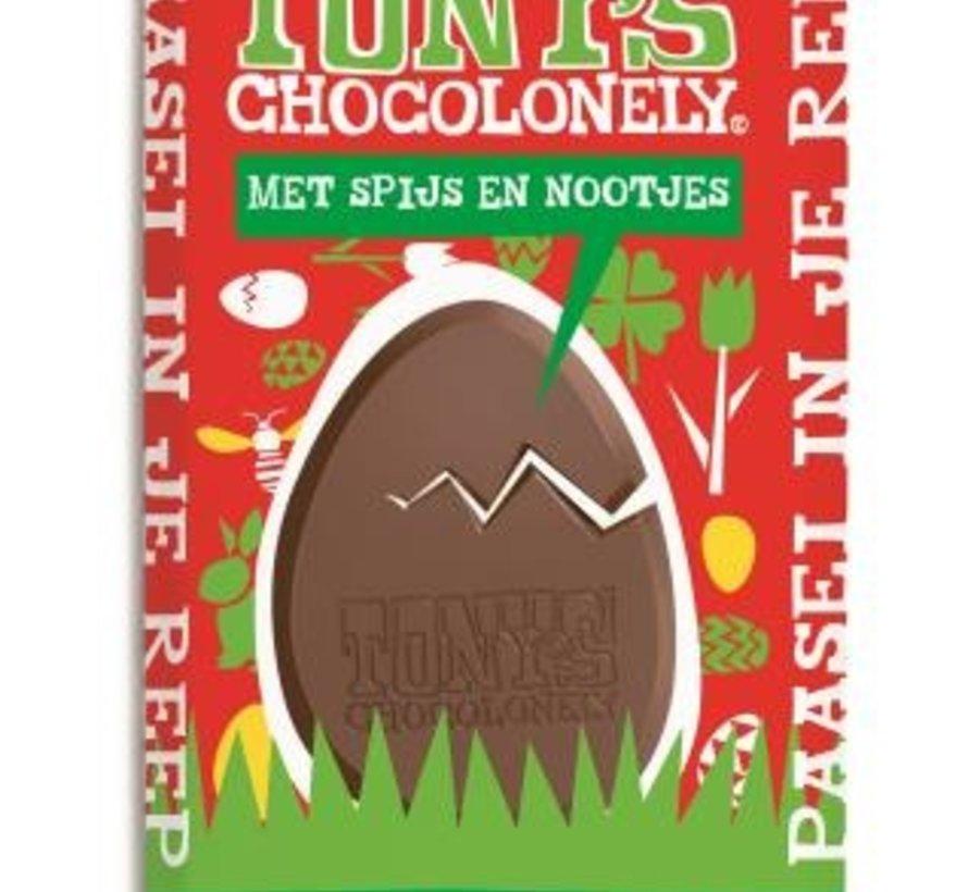 Tony's Chocolonely Paas Spijs&Nootjes -Doos 15 stuks