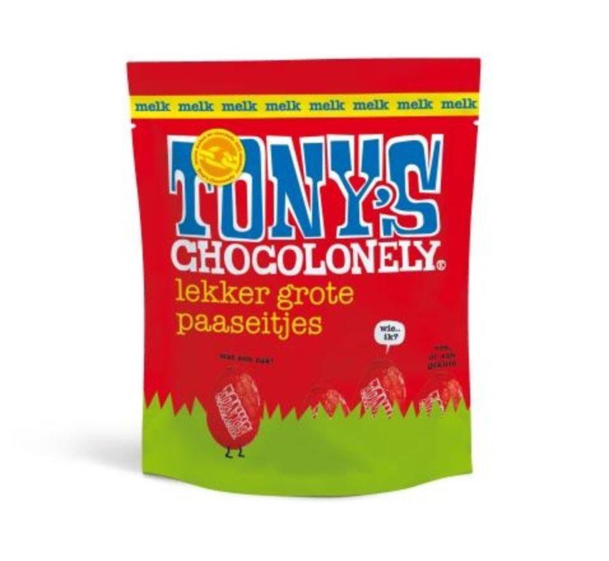 Tony's Chcocolonely Paaseitjes Melk -Doos 24 stuks