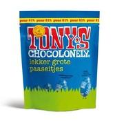 Tony'S Chocolonely Tony's Paas Eitjes Puur -Doos 24 stuks