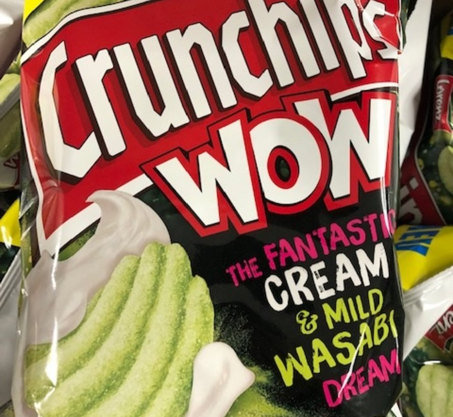 Wasabi and Cream Crunch Chips