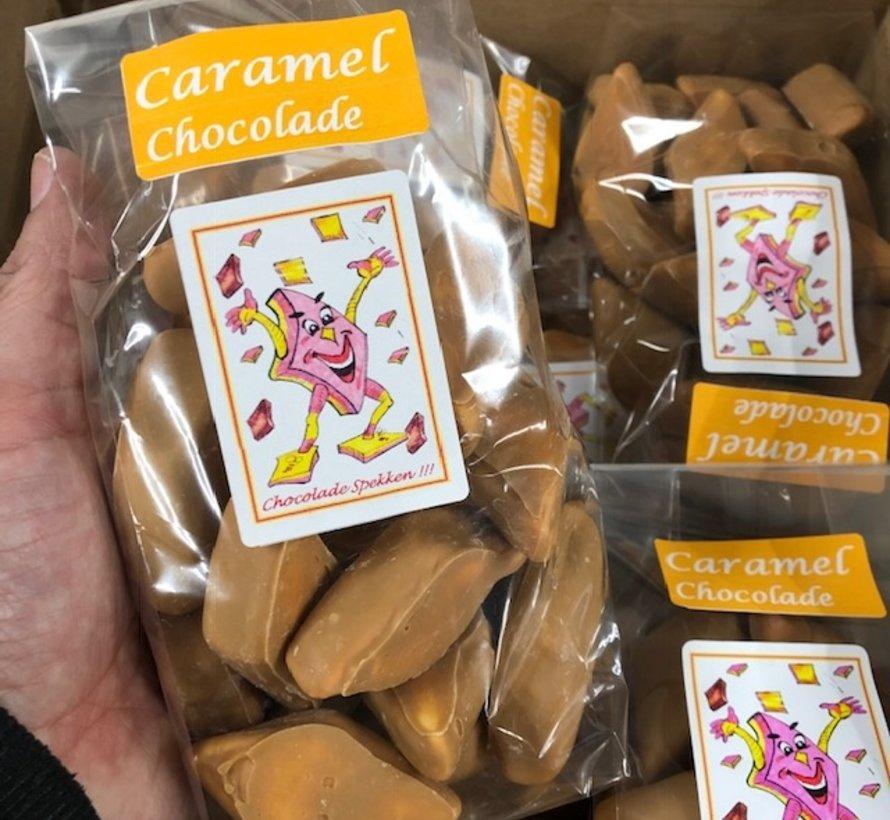 Chocolade Spekjes Caramel -zak 200 gram