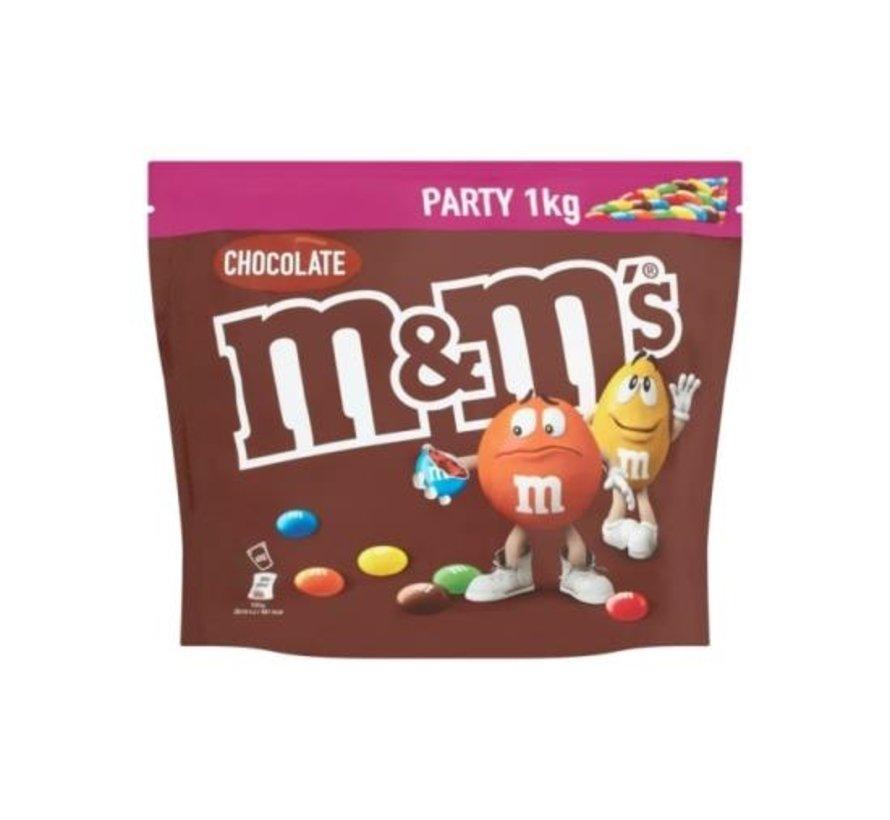 M&M Choco -Doos 6 x 1 kilo