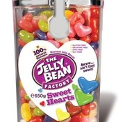 Jelly Bean Factory Jelly Beans Sweatheart Jar -Doos 6 stuks