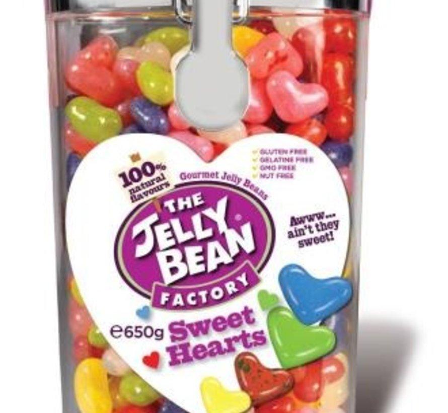 Jelly Beans Sweatheart 650 gram -Doos 6 potten