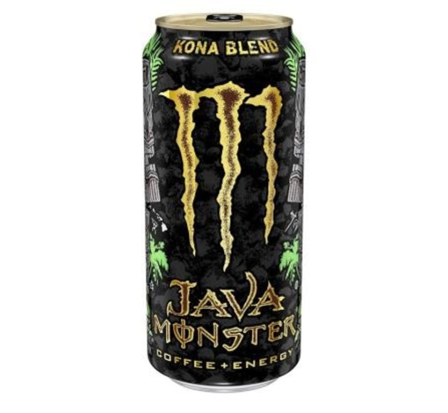 Monster Java Coffee Energy Kona Blend -Tray 12 stuks