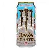 Monster Monster JAVA Swiss Chocolate Coffee Energy -Tray 12 x473ml