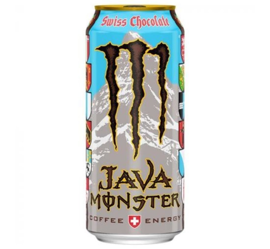 Monster Coffee Energy Swiss Chocolate -Tray 12x473ml