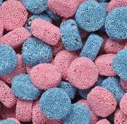 Taveners Jelly Buttons Engels Drop Roze Blauw 1 Kilo