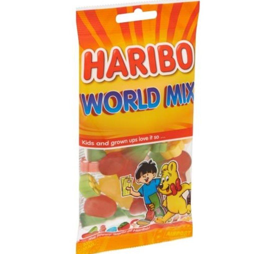 Haribo Worldmix -Doos 8x100 gram