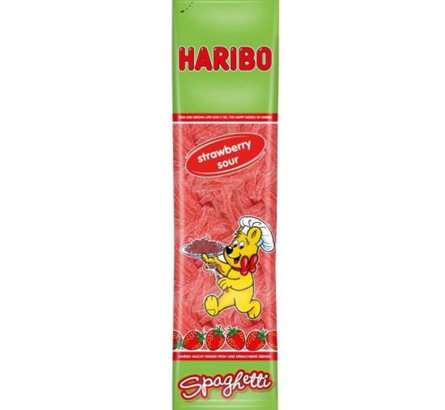 Haribo Sour Strawberry Spaghetti -Doos 15x200 gram