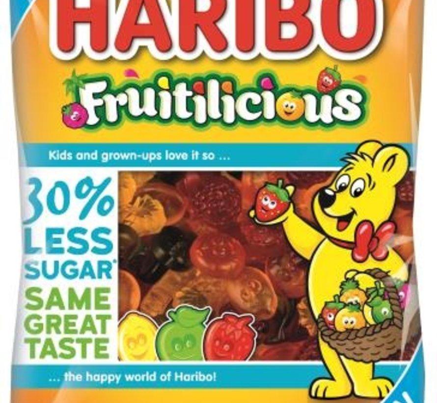 Haribo Fruitilicious 30% Less Sugar -Doos 16x220 gram