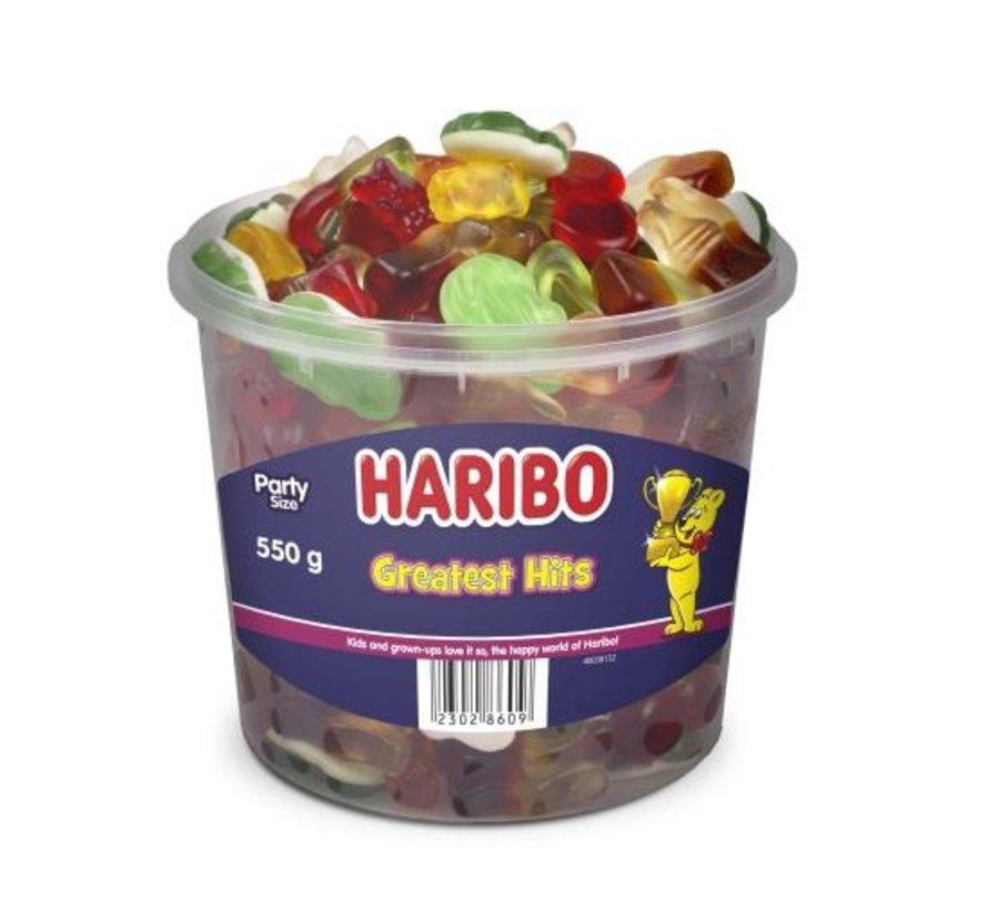 Haribo Greatest Hits -Doos 6x550 gram