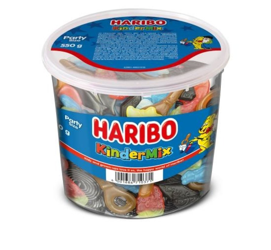 Haribo Kindermix -Doos 6x550 gram