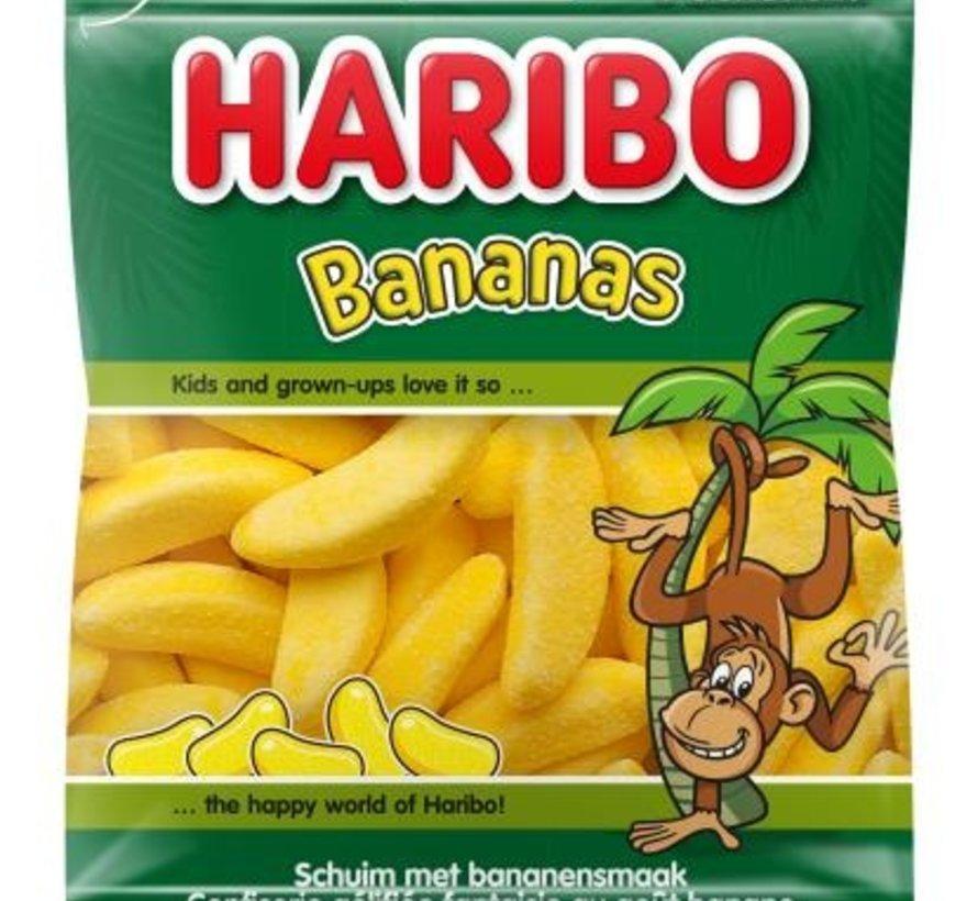Haribo Schuim banaantjes -Doos 28x70 gram