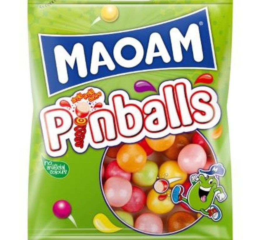 Haribo Maoam Pinballs -Doos 28x70 gram