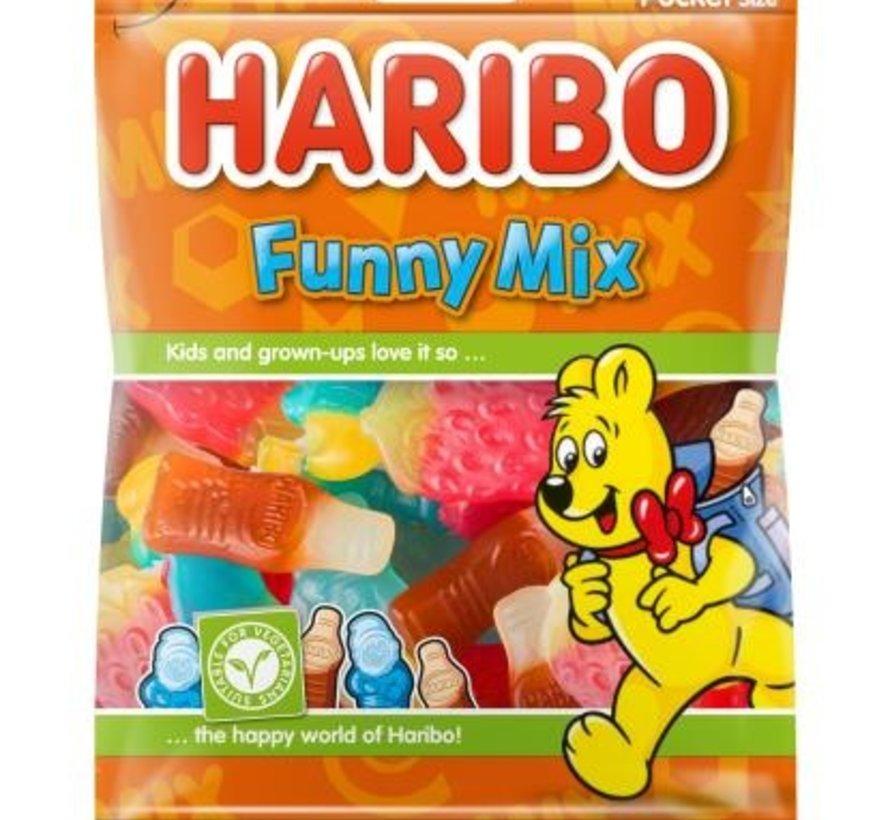 Haribo Funny Mix -Doos 28x75 gram