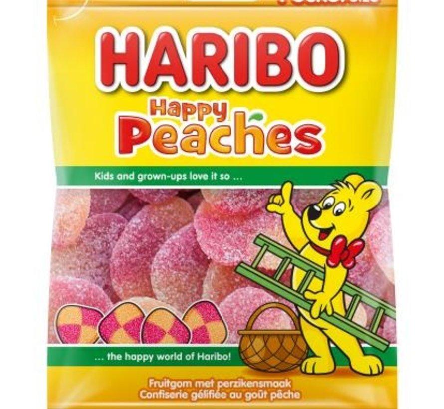 Haribo Happy Peaches Perziken -Doos 28x75 gram