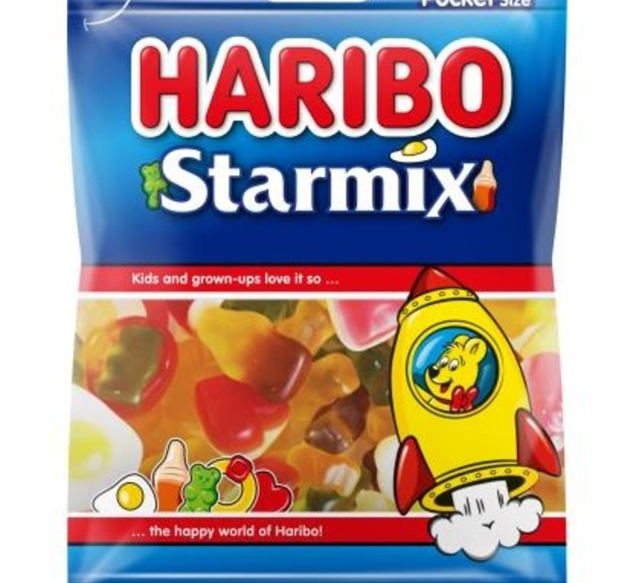 Haribo Starmix -Doos 28 x 75 gram