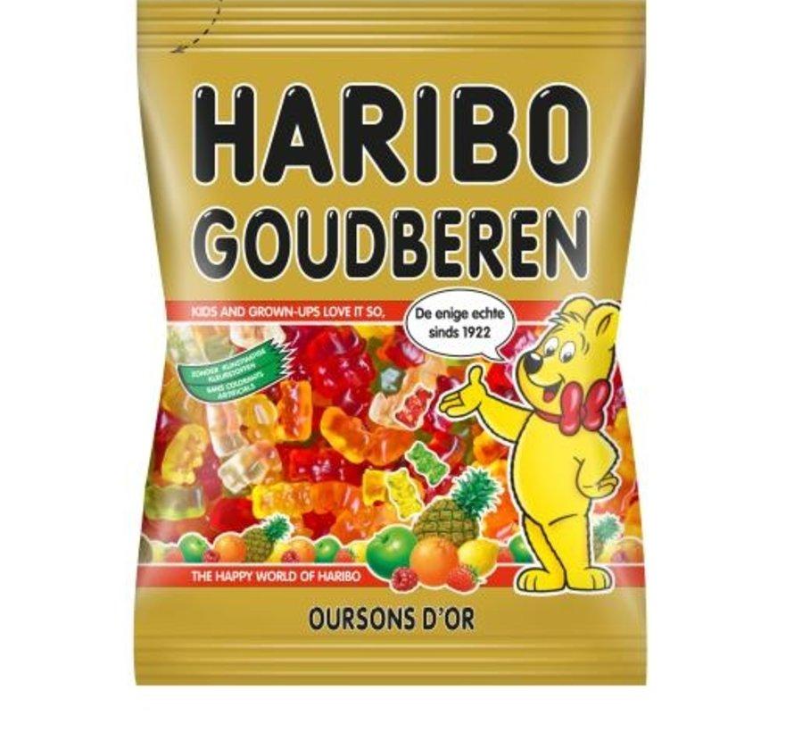 Haribo gummi beer Goudbeertjes -Doos 20x185gram