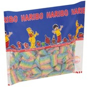 Haribo Miami zure regenboog matjes - 1 kilo