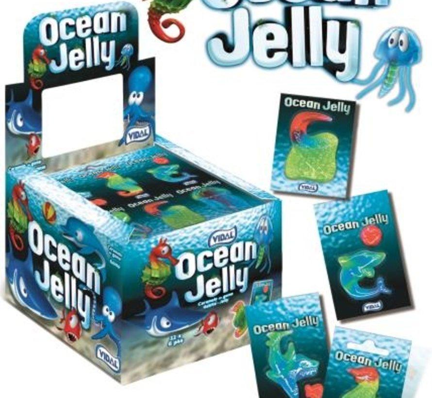 Ocean Jelly GLUTEN VRIJ -Doos 66 Stuks