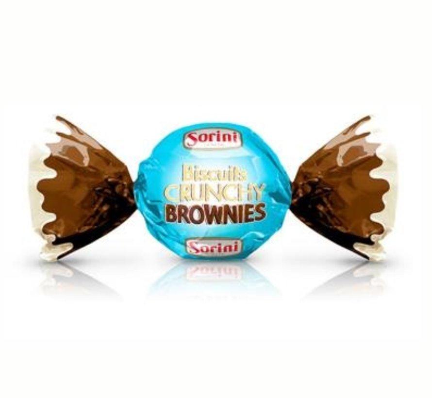 Sorini Chocoladekogels Biscuit Crunchy Brownies -1 kilo