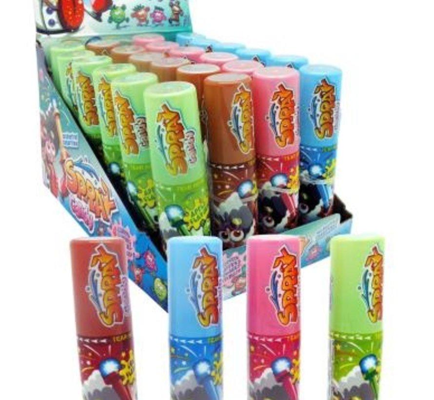 SUIKERVRIJE Candy Spray -Doos 24 stuks