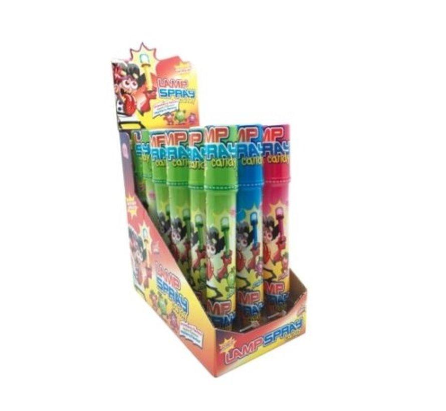 Lamp Candy Spray -Doos 18 stuks