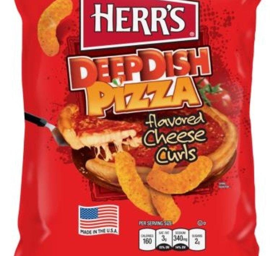 Herr's Cheese Curls Deep Dish Pizza -Doos 12x199 gram