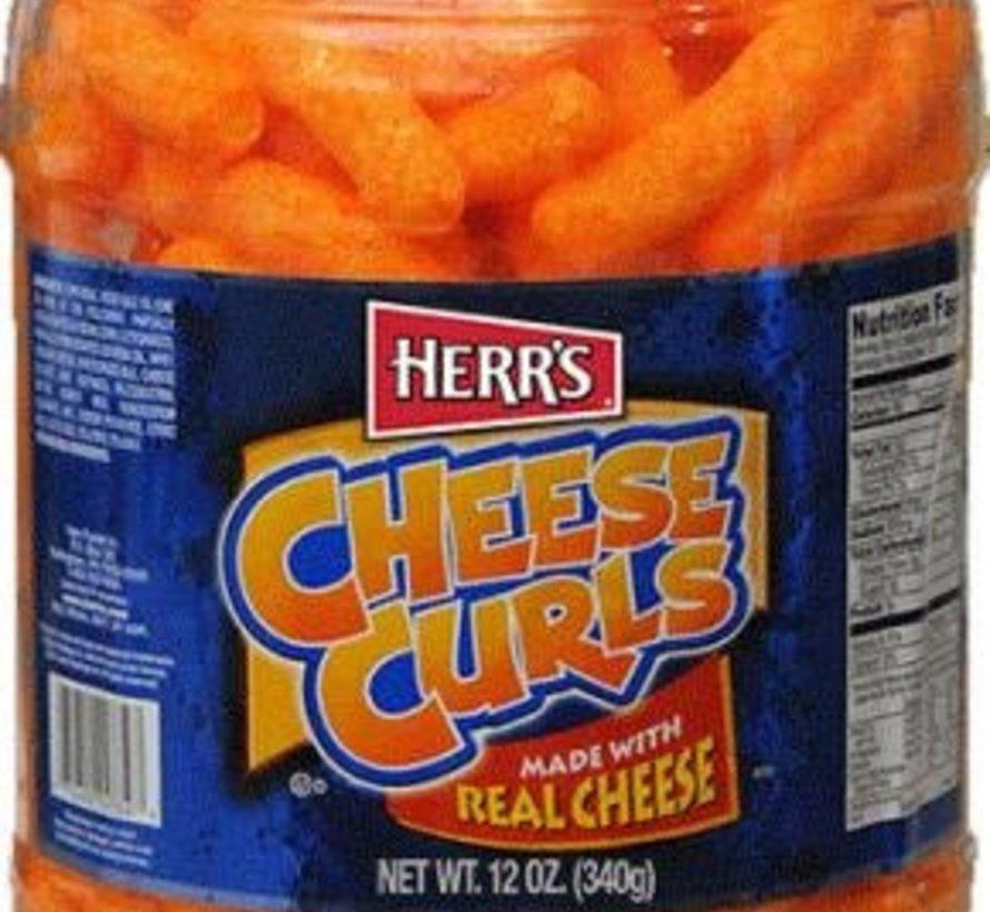 Herr's Cheese Curls- BARREL 340 gram