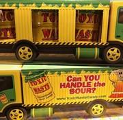 Toxic Toxic Waste Truck- Doosje 3 barrels
