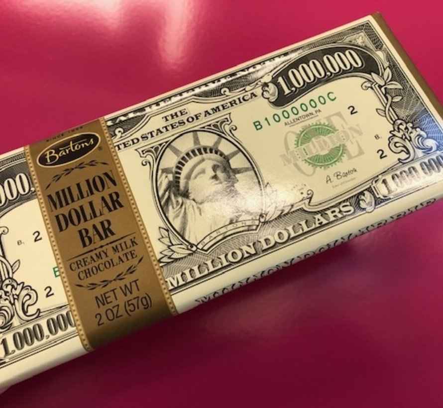 1 Million Dollar Chocolate bar