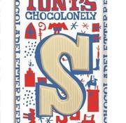 Tony'S Chocolonely Tony Chocoladeletter Wit Doos 15 Stuks