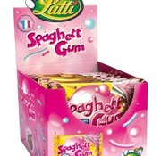Lutti Spaghetti Gum Tutti Frutti -Doos 24 stuks