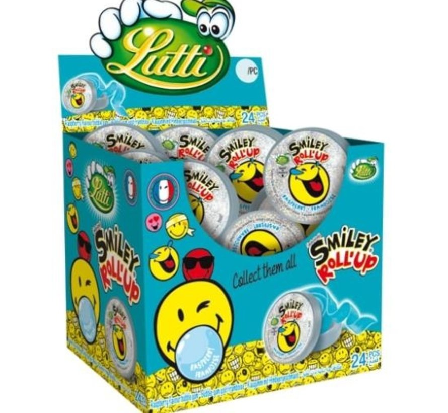 Roll Up Smiley -Doos 24 Stuks