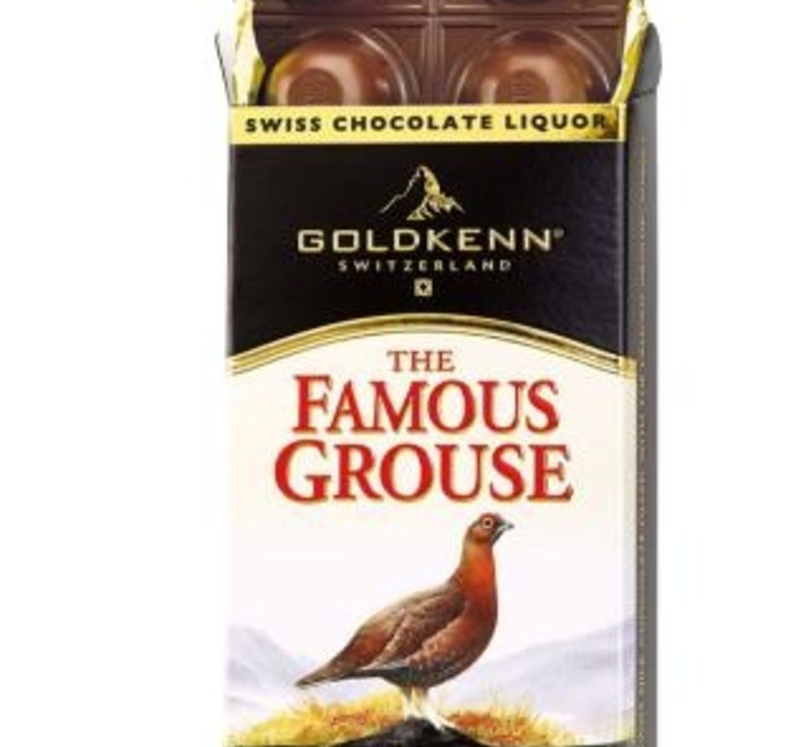 Famous Grouse Chocolade tablet 100 gram
