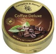 Cavendish & Harvey Coffee Deluxe Drops -Doos 9 blikken