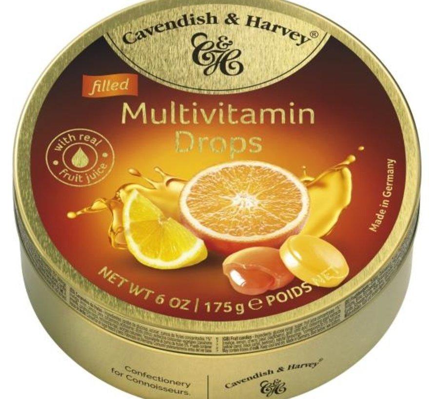 Multi Vitamin Drops -Doos 9 blikken