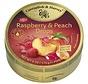 Raspberry & Peach Drops -Doos 9 blikken