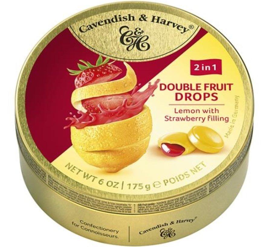 Lemon Strawberry Drops -Doos 9 blikken
