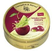 Cavendish & Harvey Cherry Lime Drops -Doos 9 blikken