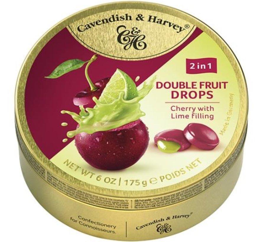 Cherry Lime Drops -Doos 9 blikken