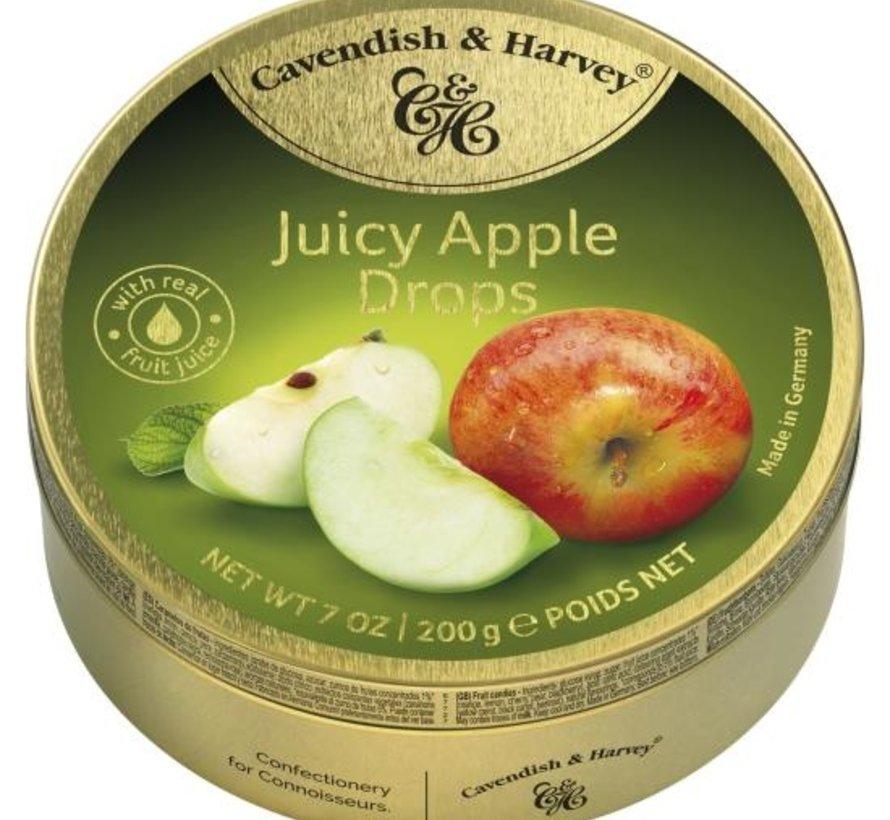 Juicy Apple Drops -Doos 9 blikken