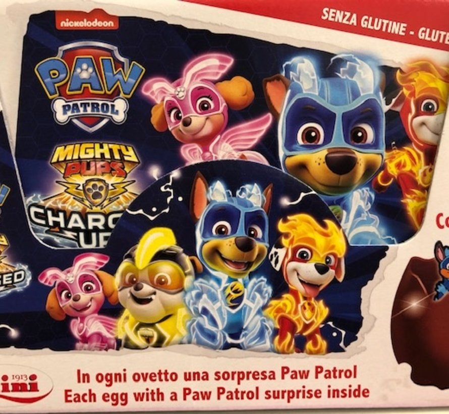 Paw Patrol MIGHTY PUPS -Surprise Ei -Doos 24 stuks