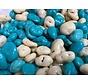 Blauw Witte Chocolade Rozijnen