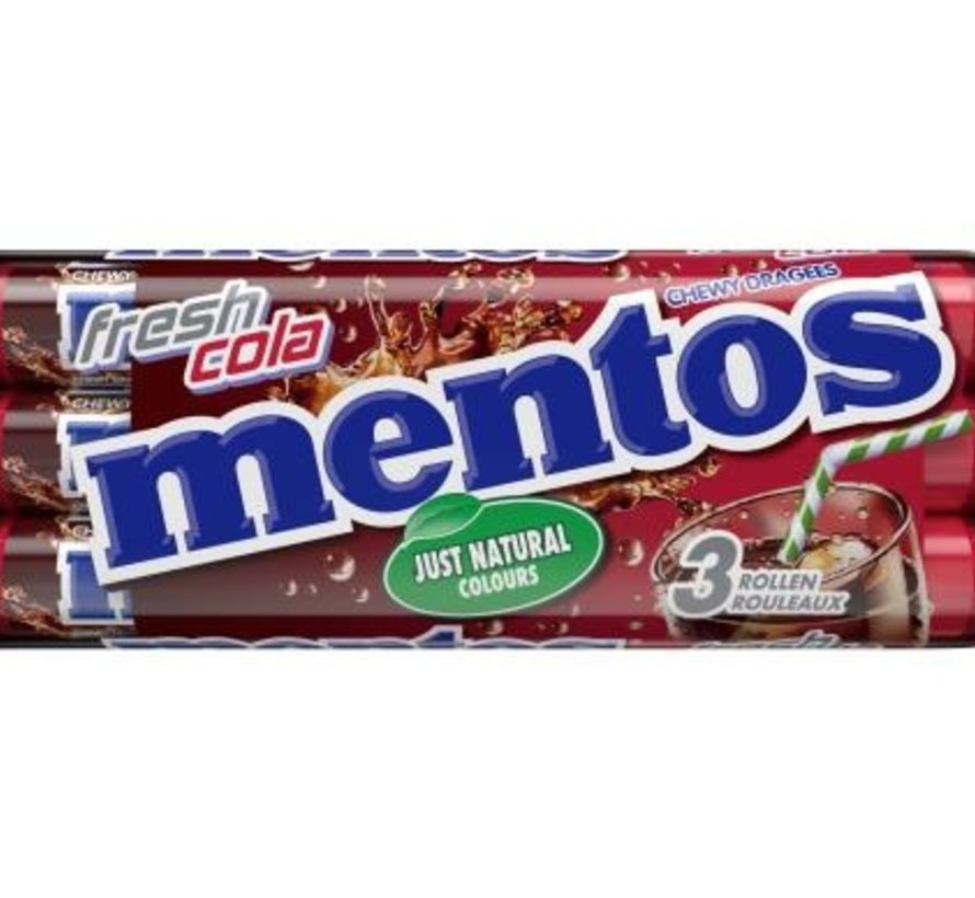 Mentos Cola 3-Pack  -Doos 25x3
