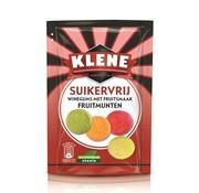 Klene Fruitmunten Suikervrij- 105 gram -doos 12 stuks