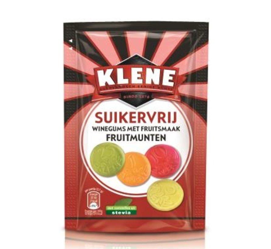 Fruitmunten Suikervrij- 105 gram -doos 12 stuks