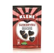 Klene Dropliefde Suikervrij -  85 gram- doos 12 stuks