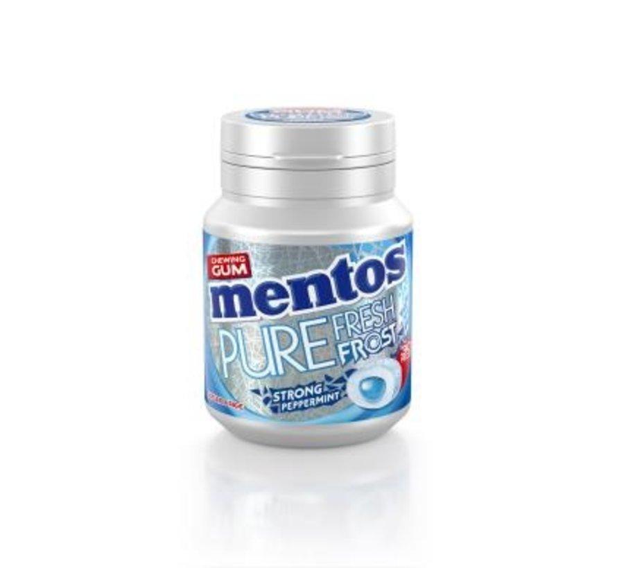 Mentos PEPPERMINT Pure Fresh Frost kauwgom - 6 potjes